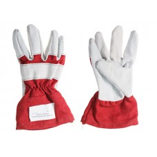 Перчатки спилковые комбинированные арт.1400-0095