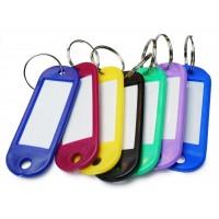 Бирки пластиковые для ключей от 0,2 рублей с НДС