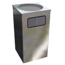 Урна  Квадро-15 хром