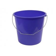 Ведро 10 л, лазурно-синий, BEROSS