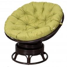 Кресло из ротанга «PAPASAN» 23/01B с цветной подушкой