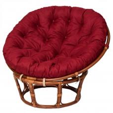 Кресло из ротанга «PAPASAN» 23/01 с подушкой Red