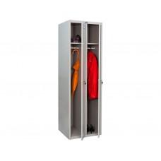 Металлический шкаф для одежды LS-21