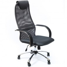 Кресло METTA BK-8CH 21 Серая сетка